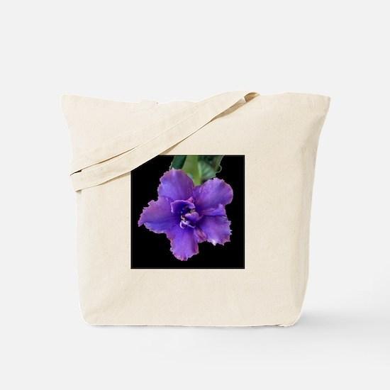 raspberry chiffon black sq.jpg Tote Bag