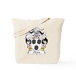 Olivas Family Crest Tote Bag
