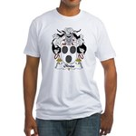 Olivas Family Crest Fitted T-Shirt