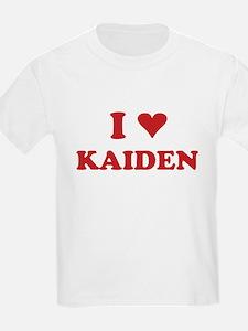 I LOVE KAIDEN T-Shirt