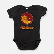burntprawn - Desert Dojo - Night Baby Bodysuit
