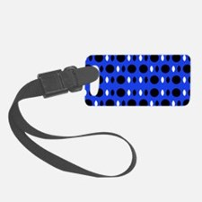 Cobalt Blue Perception Andre's F Luggage Tag