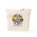Olavarria Family Crest Tote Bag