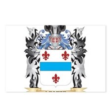 Lester Coat of Arms - Fam Postcards (Package of 8)