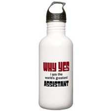 World's Greatest Assis Water Bottle