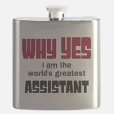 World's Greatest Assistant Flask