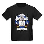 Olalde Family Crest Kids Dark T-Shirt