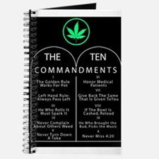 The Ten Commandments Of Pot Journal