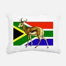 South Africa Springbok Flag Rectangular Canvas Pil