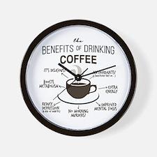 Cool Coffee Wall Clock