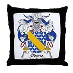 Odena Family Crest Throw Pillow