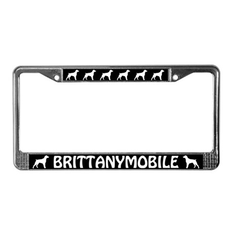 Brittanymobile License Plate Frame