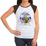 Noves Family Crest Women's Cap Sleeve T-Shirt