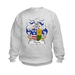 Noves Family Crest Kids Sweatshirt