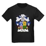 Noves Family Crest Kids Dark T-Shirt
