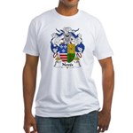 Noves Family Crest Fitted T-Shirt