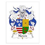 Noves Family Crest Small Poster