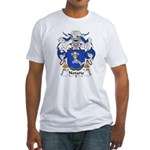 Notario Family Crest  Fitted T-Shirt