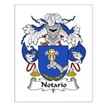 Notario Family Crest  Small Poster