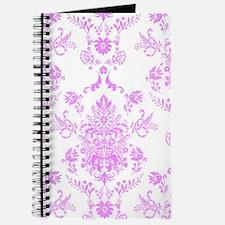 Purple Damask Journal