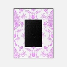 Purple Damask Picture Frame