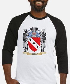 Liddle Coat of Arms - Family Crest Baseball Jersey