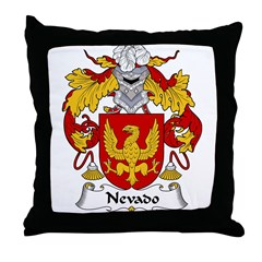 Nevado Family Crest Throw Pillow