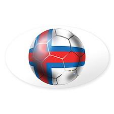 Faroe Islands Soccer Ball Decal