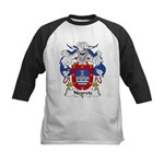 Negrete Family Crest Kids Baseball Jersey