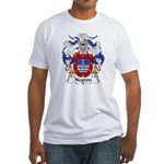 Negrete Family Crest Fitted T-Shirt