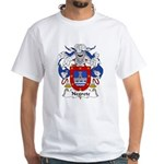 Negrete Family Crest White T-Shirt