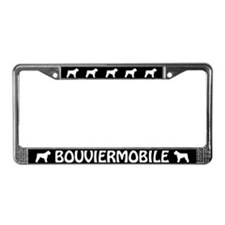 Bouvier des Flandres License Plate Frame