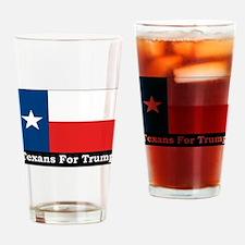 Funny Texas tea Drinking Glass