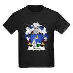 Naves Family Crest Kids Dark T-Shirt