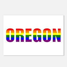 Oregon Pride Postcards (Package of 8)