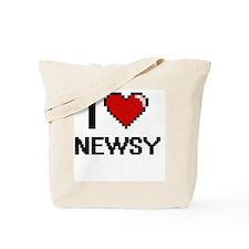 Funny Newsies Tote Bag
