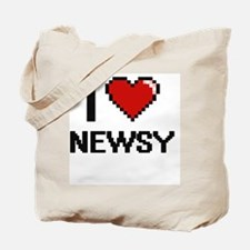 Funny Newsies Tote Bag