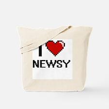 Unique Newsies Tote Bag