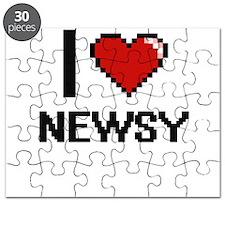 I Love Newsy Puzzle