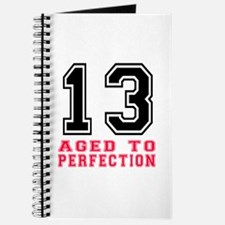 13 Aged To Perfection Birthday Designs Journal