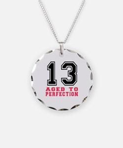13 Aged To Perfection Birthd Necklace