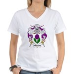 Morato Family Crest Women's V-Neck T-Shirt