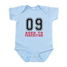 09 Aged To Perfection Birthday Des Onesie