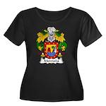 Montana Family Crest Women's Plus Size Scoop Neck