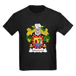 Montana Family Crest Kids Dark T-Shirt