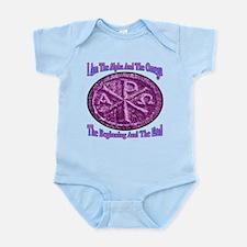 Chi Rho Alpha Omega Infant Bodysuit