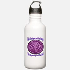Chi Rho Alpha Omega Water Bottle