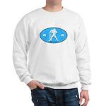Aquarius Color Sweatshirt