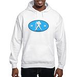 Aquarius Color Hooded Sweatshirt