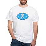 Aquarius Color White T-Shirt
